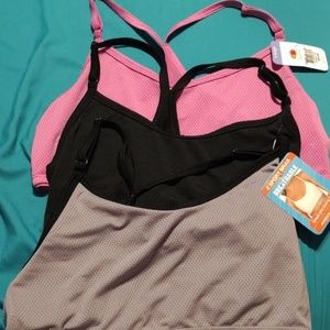 Fruit of the loom sports bras.